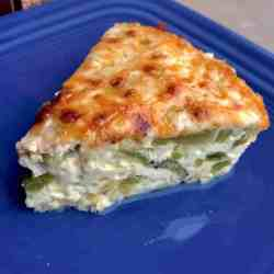 Instant Pot Keto Poblano Quiche makes a wonderful low carb brunch with just a few ingredients. Cheese, eggs, poblanos peppers combine to make an elegant dish.