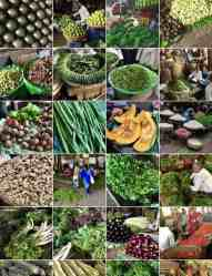 Is it ordinary or exotic? Indian vegetable market.