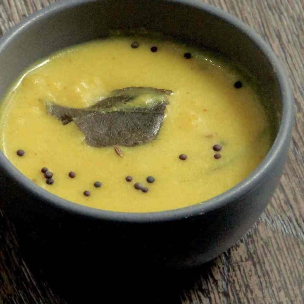 Instant Pot Kadhi Indian Tangy Yogurt Soup