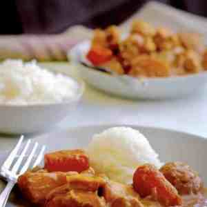 Make a quick but authentic Japanese Chicken Curry in your Instant Pot. Just four minutes under pressure in your pressure cooker for a flavorful and hearty meal. I can't believe how quickly this came together!
