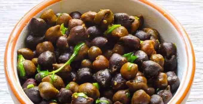 Instant Pot Indian Sookha Kala Chana Black Chick Peas