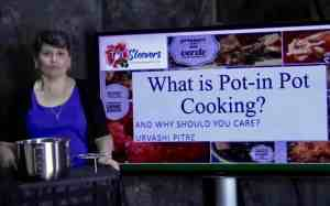 Watch a very informative video on how to cook pot-in-pot cooking in your Instant Pot or Electric Pressure cooker.