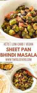 Sheet Pan Bhindi Masala