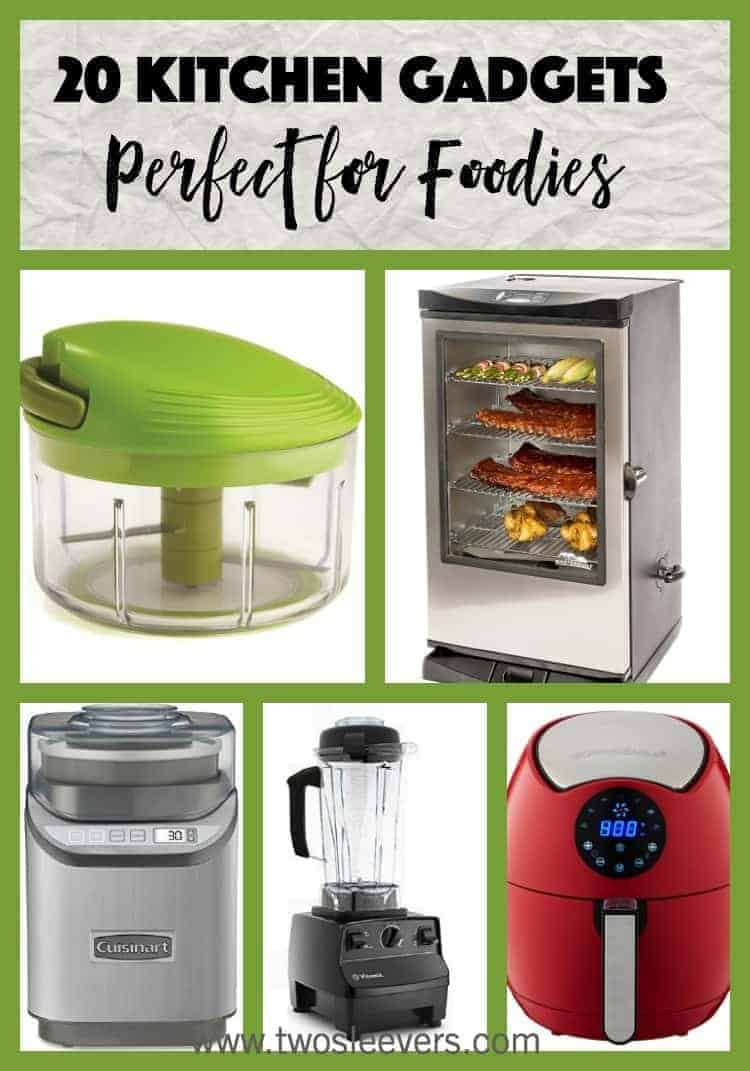 Top 20 Kitchen Gadgets for Foodies  Two Sleevers