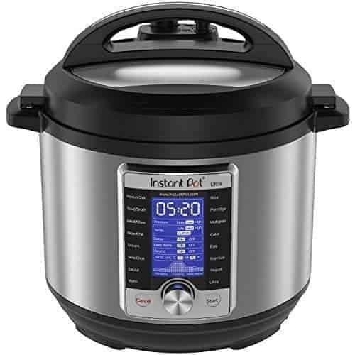 Instant Pot Ultra 6 Qt 10-in-1 Multi- Use Programmable Pressure