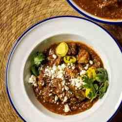 Pressure Cooker Low Carb Mexican Chicken Pollo con Salsa Rojo