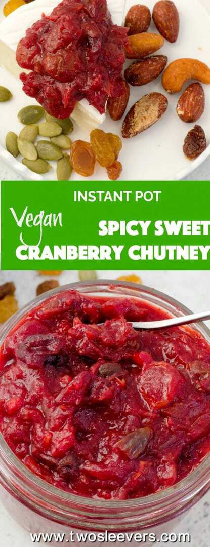 This spicy, sweet, and tangy Pressure Cooker Cranberry Chutney will wow your guests and make a wonderful addition to your cheese tray, besides providing an exotic flavor at your dinner table.