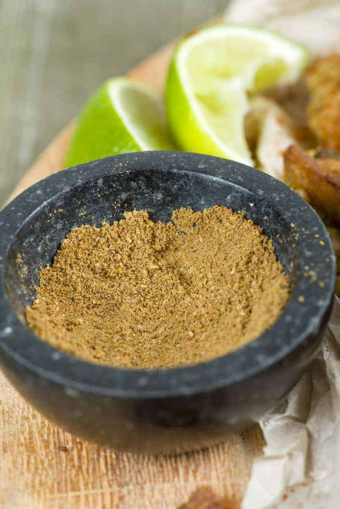 Make your own shawarma spice mix and use it with a variety of meat including chicken, beef, lamb, ground beef, or even green beans.