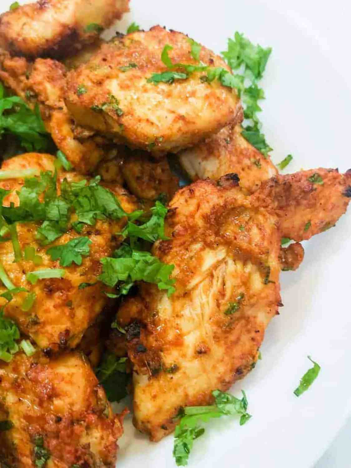 Make Tandoori chicken in your air fryer with just a yogurt-based marinade. A flavor-packed keto, low carb chicken recipe that is super easy to make and tastes like authentic tandoori chicken. Best way to make restaurant-style tandoori chicken at home.