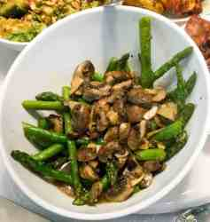 A quick and healthy stirfry with minimal ingredients and maximal taste--and done in about 15 minutes. An excellent side dish that goes well with everything.