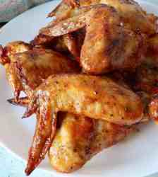 Tangy, sweet, spicy air fryer chicken wings with Gochujang make a delightful easy keto appetizer or meal. Make thee in your air fryer or oven and enjoy the finger-licking goodness.