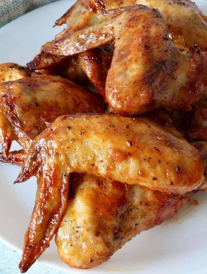 Keto Air Fryer Korean Chicken Wings | Gochujang Chicken Wings