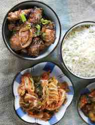 Air Fryer Korean Grilled Pork Dae Ji Bulgogi