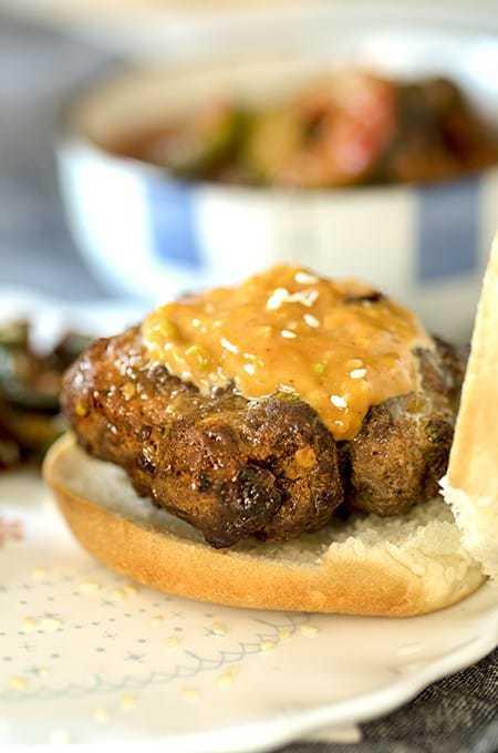 Air Fryer Beef Bulgogi Burgers