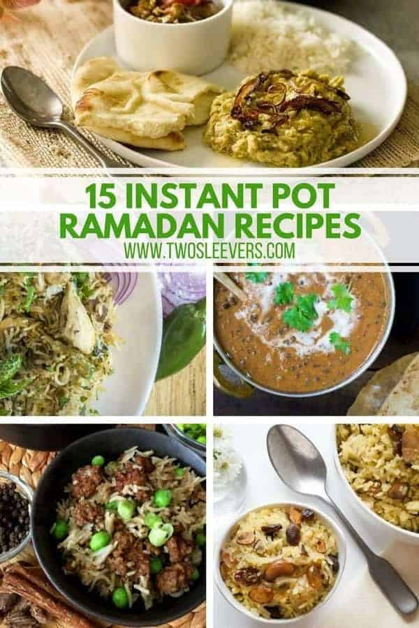 Instant Pot Ramadan Recipes