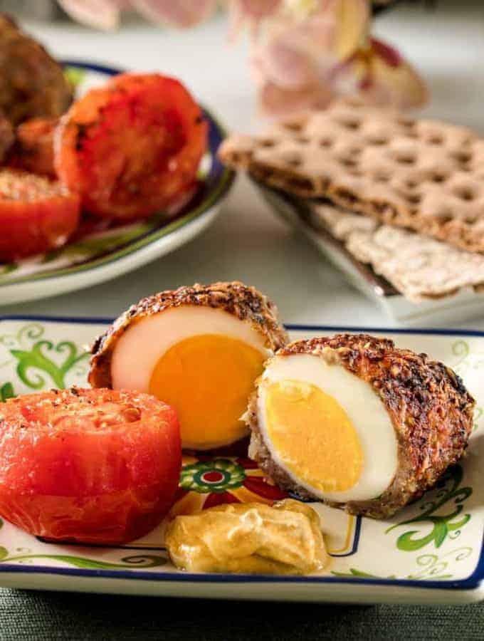 Air Fried Scotch Eggs | Keto Scotch Eggs Recipe