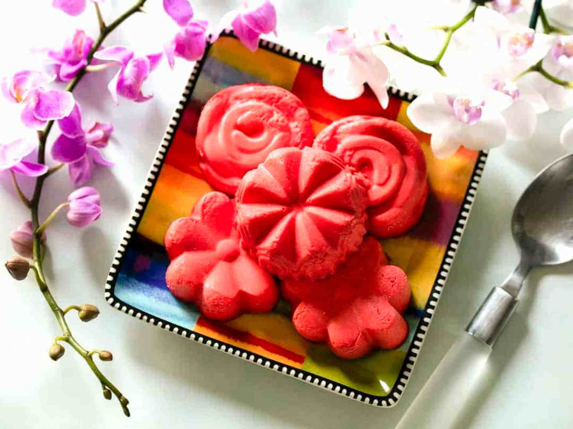 Raspberry Cream Bombs
