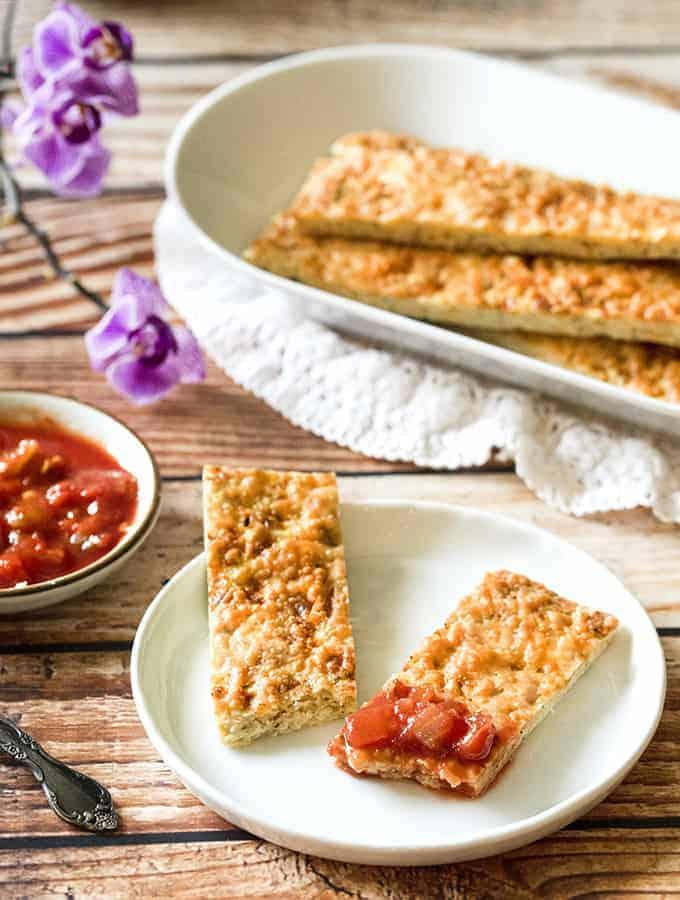 Cauliflower Breadsticks