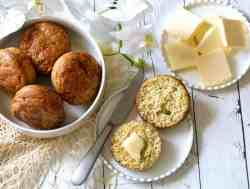 Keto Cheese Muffins | Savory Low Carb Muffins