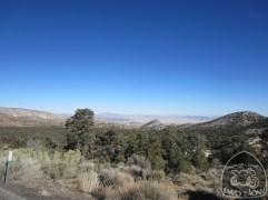 Looking down into Lucerne Valley