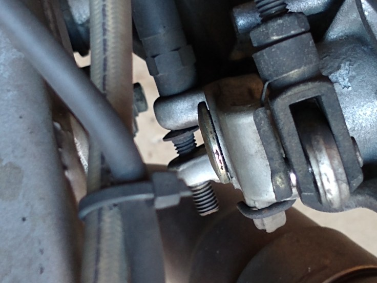 rear brake switch closed