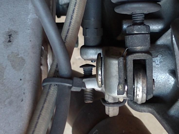 rear brake switch open