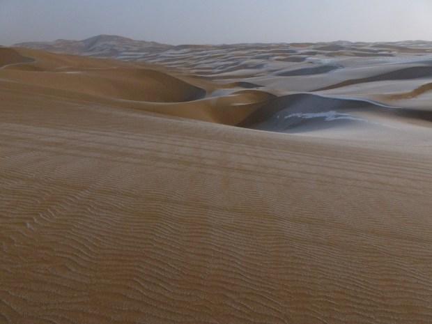 The Kum Tagh desert