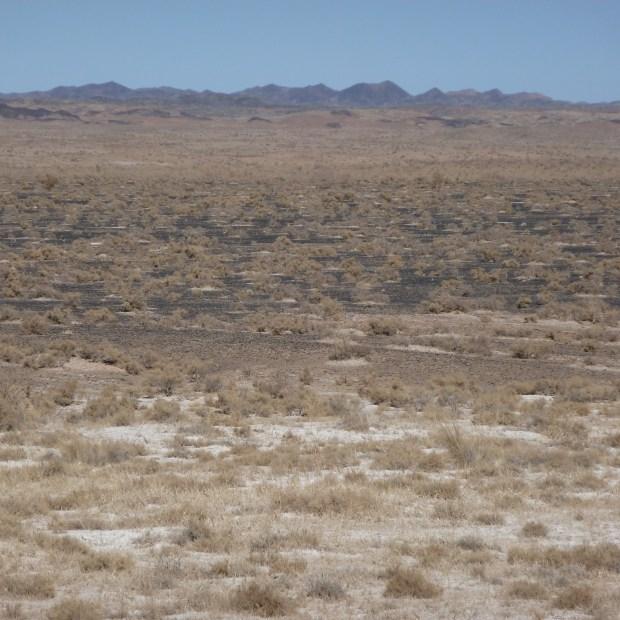 In the desert near Liaoyuan Zhen