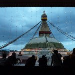 The Boudha Stupa at dusk