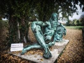 Leo lolling by La Loire