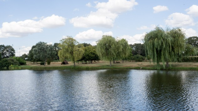 The Plan d'Eau offers picnic areas
