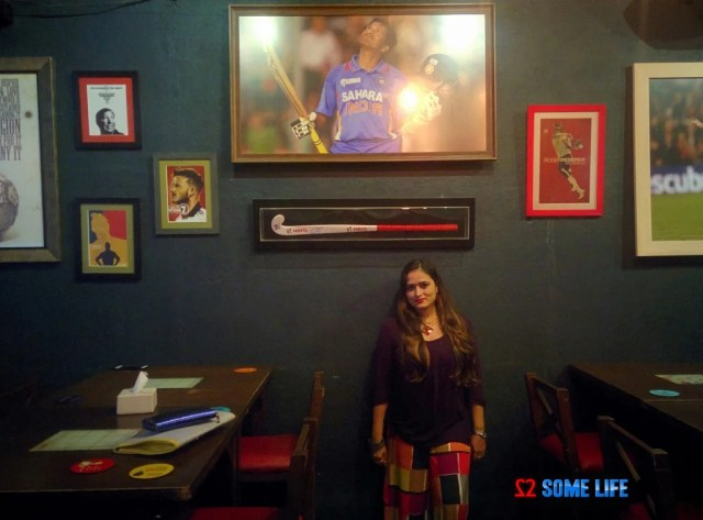 Aufside Sports bar Pune Ambience