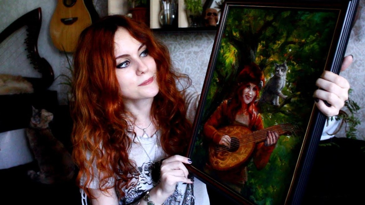 Today we present a cover of The Mandalorian Main Theme by the artist – Alina Gingertail!