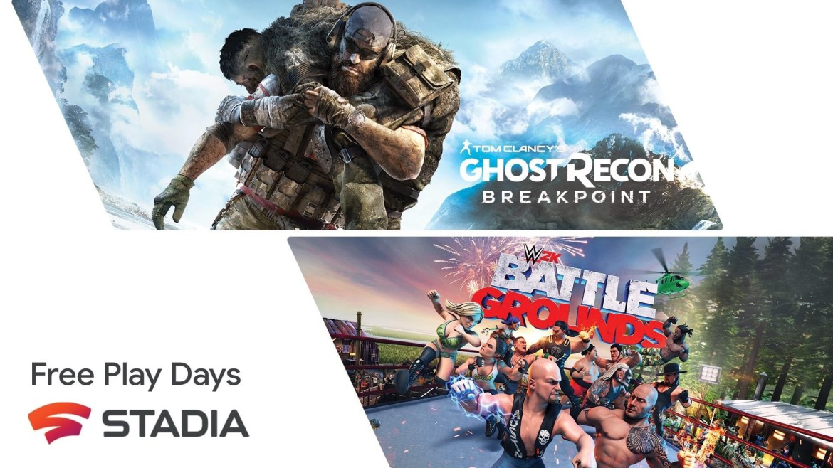 Stadia free games until January 25!