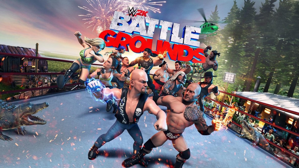 Battle it out with current WWE Superstars and iconic Legends in WWE 2K Battlegrounds – play it for free with Stadia Pro until January 25!