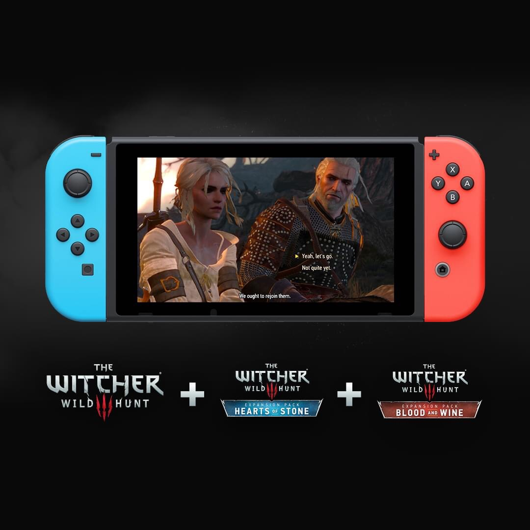 Starting today gamers around the world are able to buy The Witcher 3: Wild Hunt for Nintendo Switch either as a Complete Edition, which contains base game, both expansions and all free DLCs, or separately.
