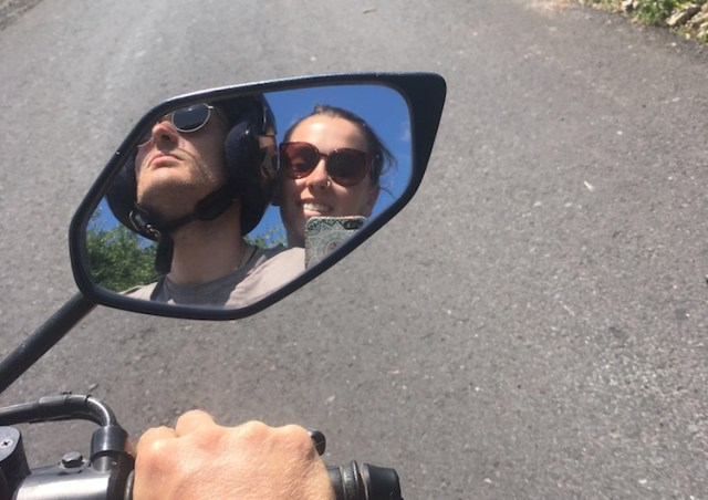 Scooters-in-Bali-Our-first-experience-on-two-wheels-mirror-shot-Two-Souls-One-Path