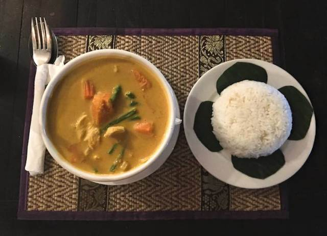 Red Khmer Curry from Try Me, Two Souls One Path