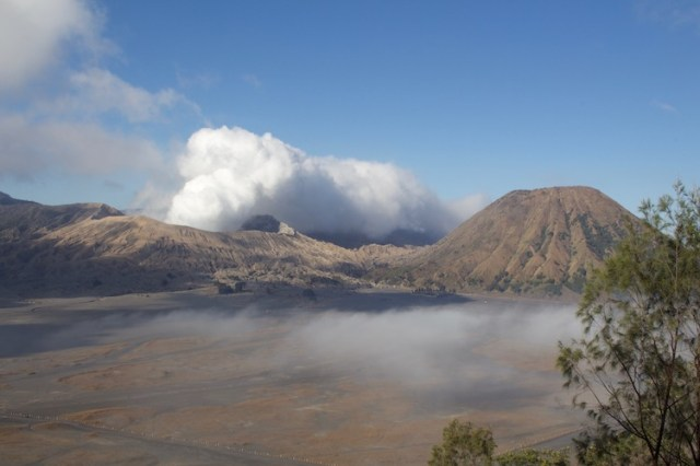 Mount Bromo in the daytime
