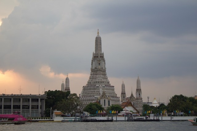 Wat arun from otherside of the river