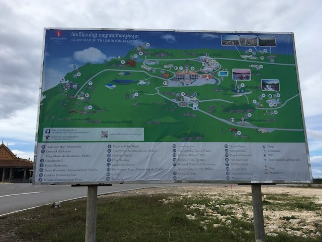 Bokor National Park map