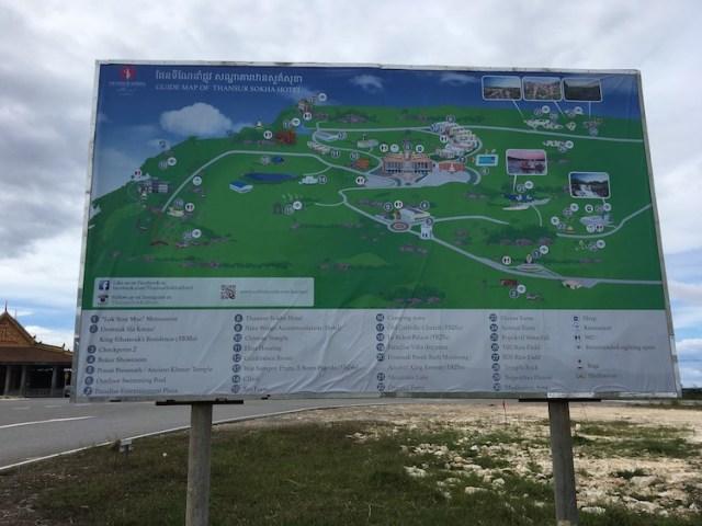 Bokor National Park map