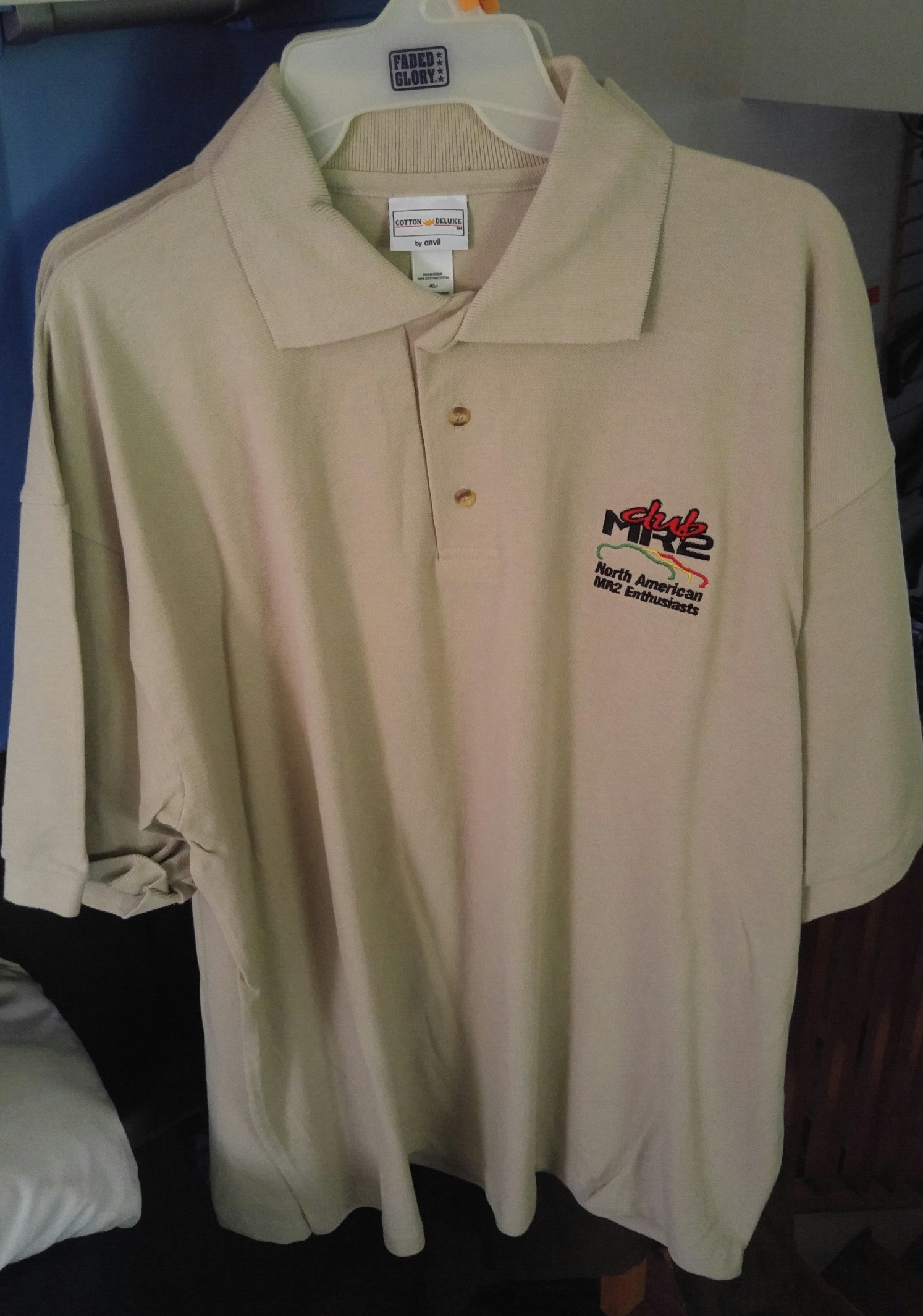 hight resolution of club mr2 polo shirt cobblestone xl