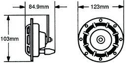 Hella Supertone Horn Kit, Twos R Us