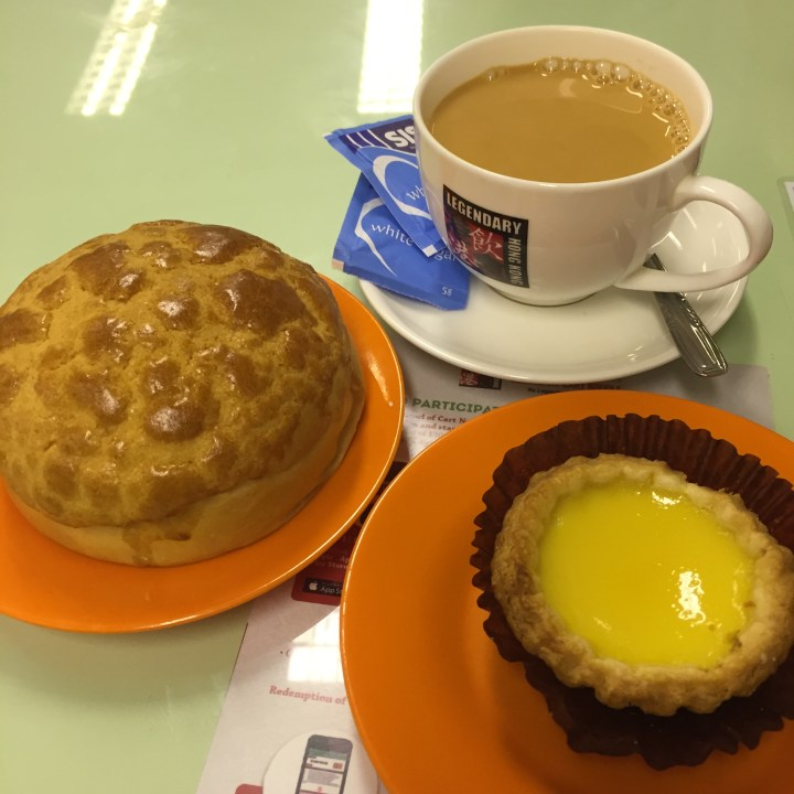 Pineapple Custurd Crust Bun Egg Tart