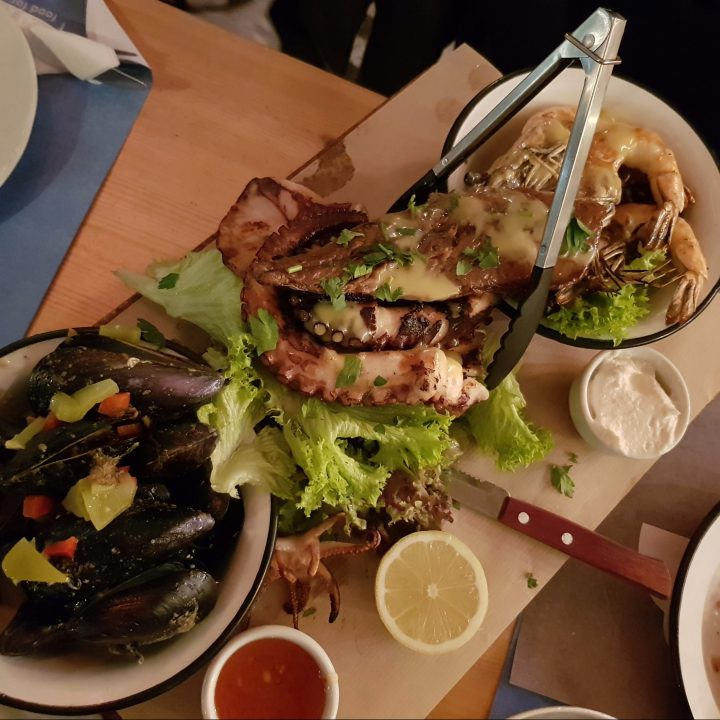 mykonos seafood restaurant, best seafood mykonos, best restaurant mykonos