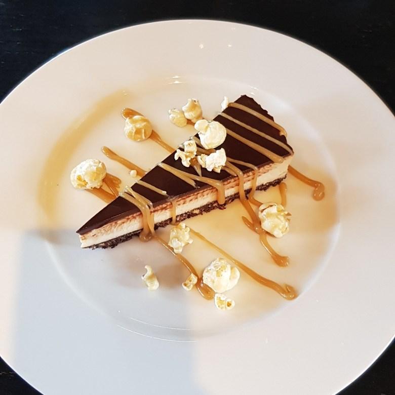 rick stein, charity lunch menu, peanut butter cheesecake, riverside restaurant
