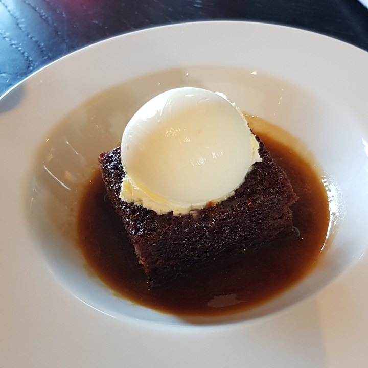 Rick Stein, sticky toffee pudding, riverside restaurant
