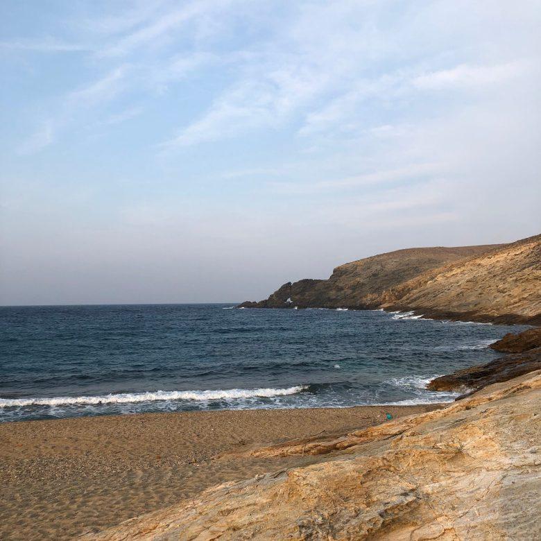fokos beach, off the beaten track beach mykonos