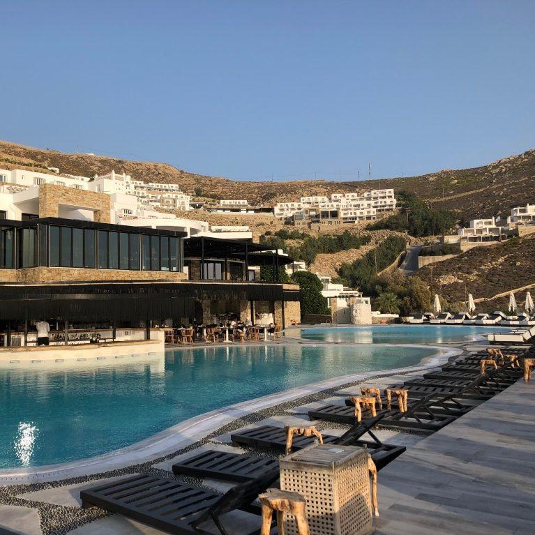 Best hotel in Mykonos next to Elia Beach